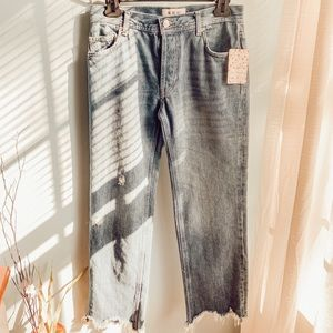 NWT WE THE FREE Free People Jeans sZ 24